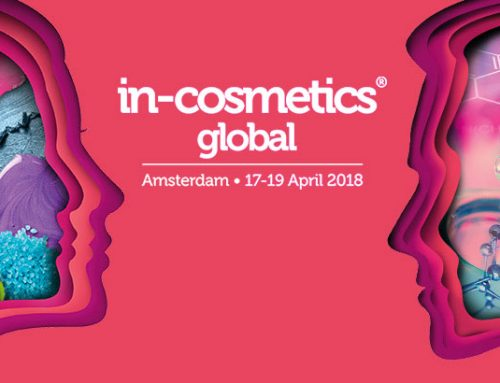 17-19 April 2018: Visit us at the in-cosmetic global in Amsterdam